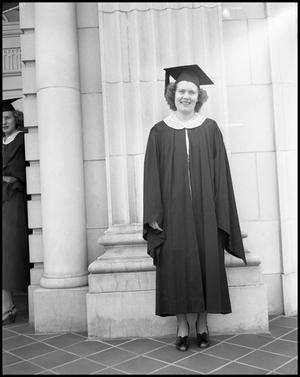 Primary view of object titled '[Photograph of Graduating Senior]'.
