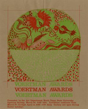 Primary view of object titled 'Voertman Awards / Voertman Awards / Voertman Awards'.