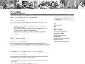 Primary view of object titled 'Iogene: Interface Optimization for Genealogists'.