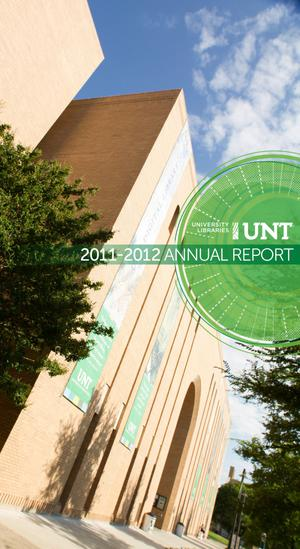 Primary view of object titled 'University of North Texas Libraries Annual Report: 2012'.