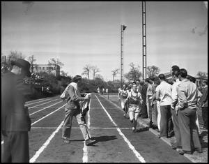 Primary view of object titled '[Photograph of Track Event]'.