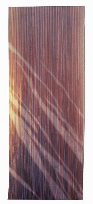 Primary view of object titled '[vertical striped shibori artwork]'.