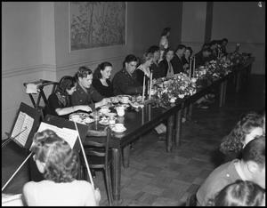 Primary view of object titled '[Dinner For Soldiers, 1942]'.