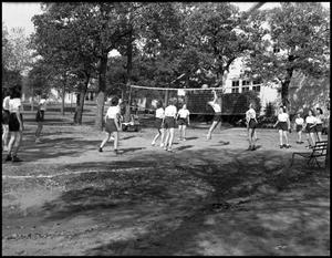 Primary view of [Women Playing Volleyball]
