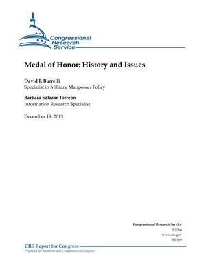 Medal of Honor: History and Issues