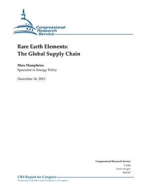 Rare Earth Elements: The Global Supply Chain