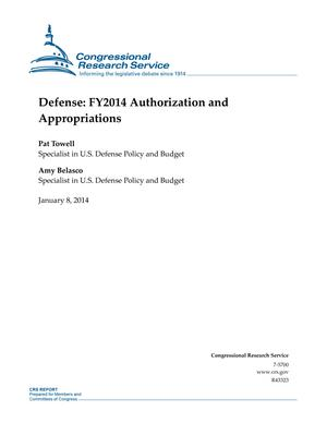 Defense: FY2014 Authorization and Appropriations