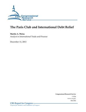 The Paris Club and International Debt Relief