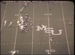 [Coaches' Film: North Texas State University vs. Memphis State University, 1973]
