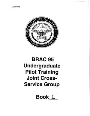 Primary view of object titled 'UPT (Pilot Training) JCSG - Book 1'.