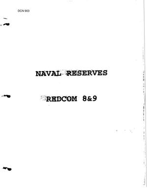 Primary view of object titled 'Naval Reserves - REDCOM (8, 9, 10, 11)'.