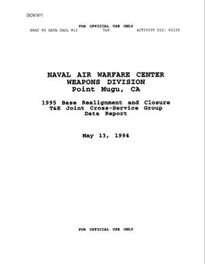 Primary view of object titled 'Navy Installations - Naval Air Warfare Center, Point Mugu, CA'.