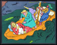 Thumbnail image of item number 1 in: 'Jesus and Disciples in a Storm'.