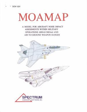 Primary view of object titled 'Model for Aircraft Noise Impact Assessment Within Military Ops Areas (MOAMAP)'.