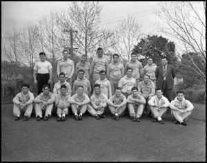 Primary view of object titled '[Track Team Photograph]'.