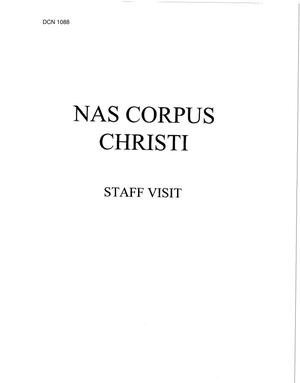 Primary view of object titled 'NAS Corpus Christi'.