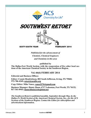 Southwest Retort, Volume 66, Number 6, February 2014