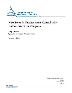 Next Steps in Nuclear Arms Control with Russia: Issues for Congress