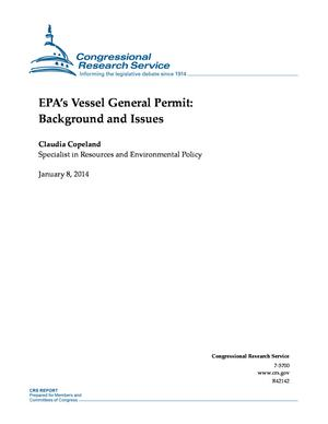 EPA's Vessel General Permit: Background and Issues