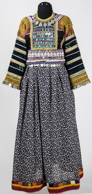 Dress - Kutchi Group, Pashtun Peoples, Afghanistan.