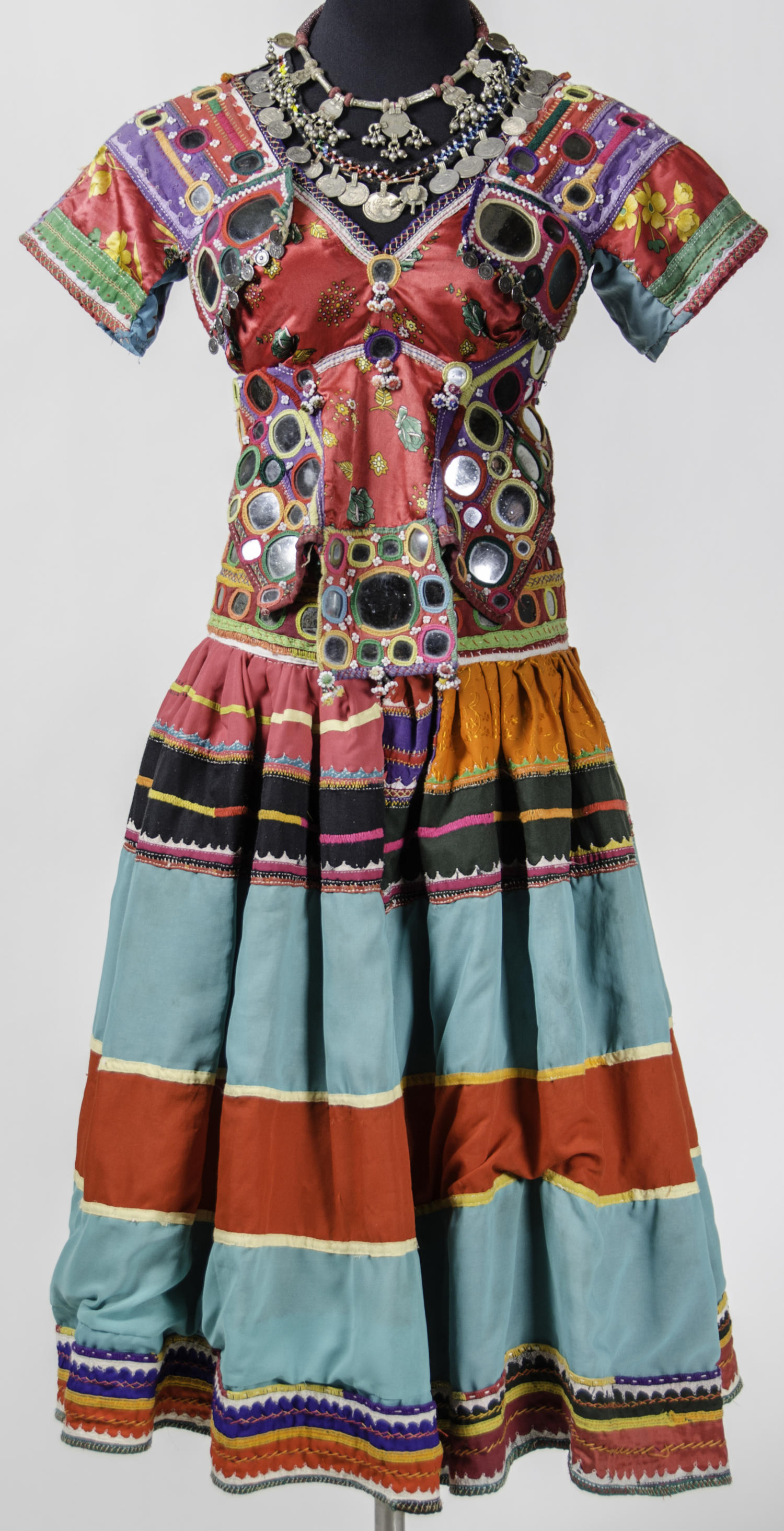 Belly Dancer's Costume - Banjara Peoples of India                                                                                                      [Sequence #]: 1 of 7
