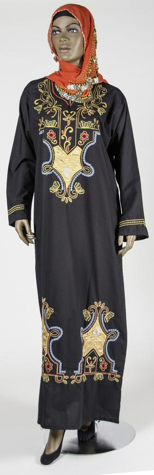 Primary view of object titled 'Ensemble - Egyptian Traditional Ensemble'.