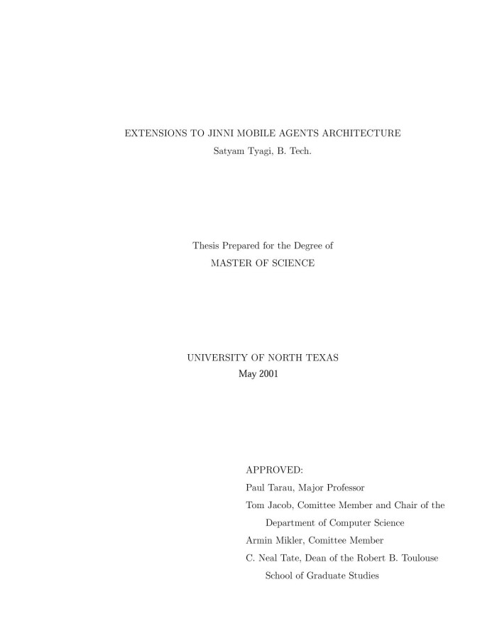 thesis on mobile agent Mobile notary, signing agent, event planner you have taken another step in your journey towards your your research dissertation/thesis and/or mobile notary services.