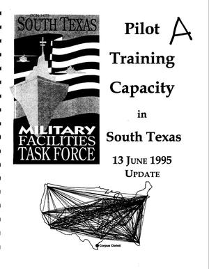 Primary view of object titled 'Pilot Training, South TX; Anniston Army Depot and Ft. McClellan, AL; Selfridge ANG, MI, April-June 1995 Visits'.