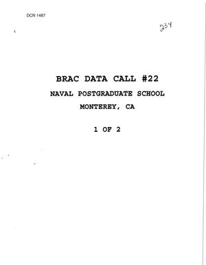 Primary view of object titled 'Data Calls 1995 - Naval Postgraduate School, Monterey, CA'.