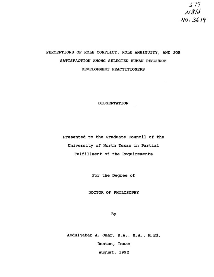 hrm thesis free download