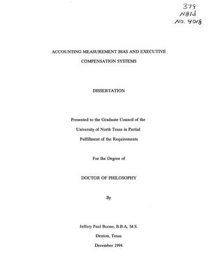 Phd thesis on compensation management