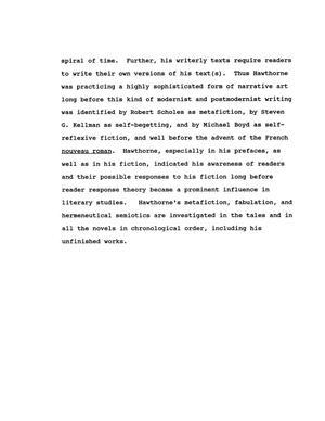 Hawthorne thesis
