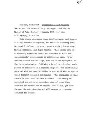 fischer thesis