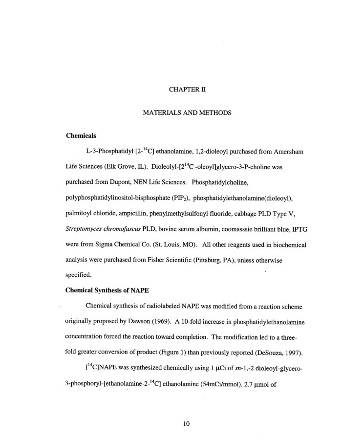 N-Acylethanolamines and Plant Phospholipase D, Page: 10 | UNT ...