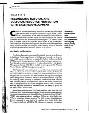 Primary view of object titled 'Reuse Hearings 03/23/95, China Lake NWC, Kirtland AFB, Portsmouth'.