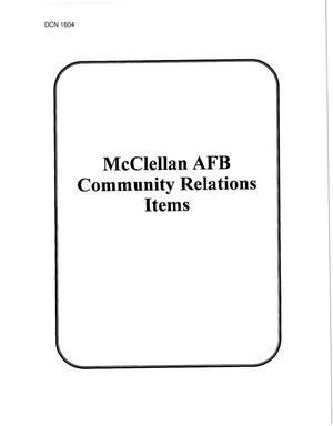 Primary view of object titled 'McClellan AFB & Kelly AFB'.
