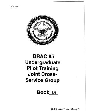 Primary view of object titled 'UPT (Pilot Training) JCSG - Book 14 (1 of 2)'.