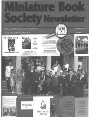 Miniature Book Society Newsletter 2004 October