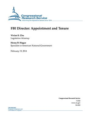 FBI Director: Appointment and Tenure
