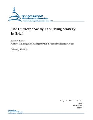The Hurricane Sandy Rebuilding Strategy: In Brief