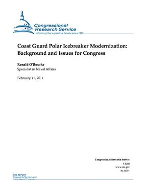 Coast Guard Polar Icebreaker Modernization: Background and Issues for Congress
