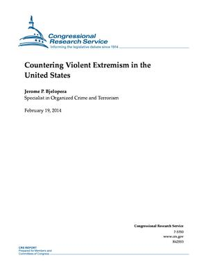 Countering Violent Extremism in the United States