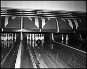 Primary view of object titled '[Photograph of Bowling Lane]'.