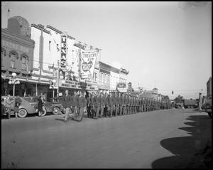 Primary view of object titled '[Armistice Day Parade]'.