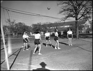 Primary view of object titled '[Woman's Volleyball Game]'.