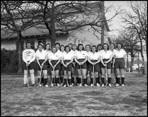 Primary view of object titled '[Women's Lacrosse Team]'.