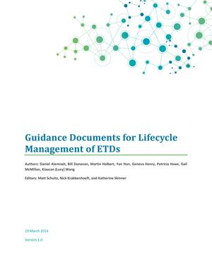 Primary view of object titled 'Guidance Documents for Lifecycle  Management of ETDs'.