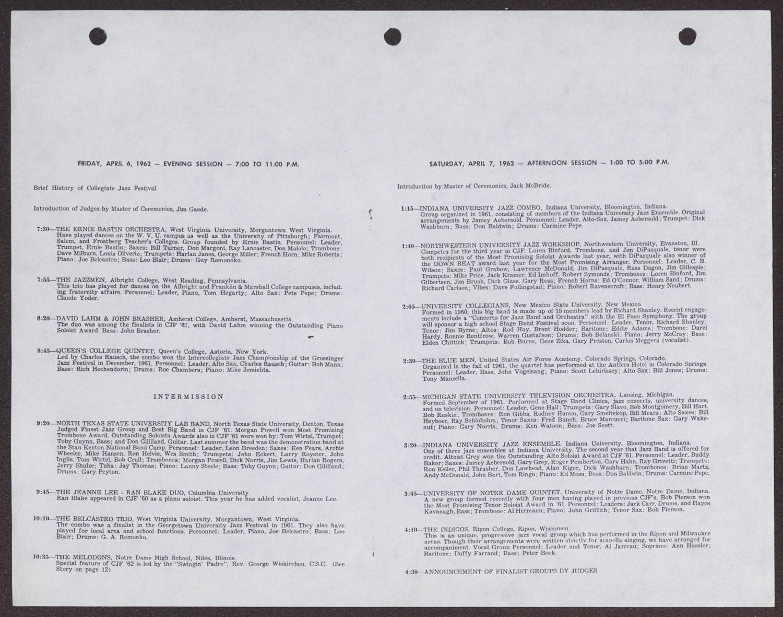 Leon Breeden Scrapbook: 1962] - Page 93 - Digital Library