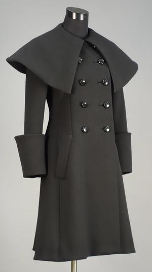Primary view of object titled 'Coat (Part of Ensemble)'.