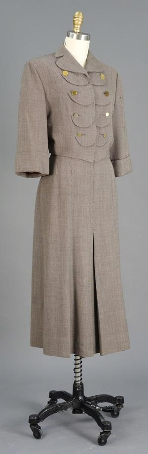 Primary view of object titled 'Skirt Suit'.